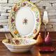Tuscan Fruits Serving Platter, 16½