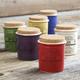 Italian Ceramic Spice Jars