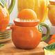 Ceramic Orange Juicer and Pitcher, 18 oz.