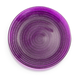 Purple Glass Rope Plate, 6