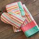 Retro Stripes Vintage-Style Kitchen Towel