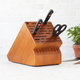 Sur La Table 35-Slot Cherry Knife Block