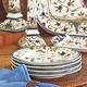 17th Century Bird Salad Plate
