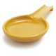 Italian Mustard Ceramic Spoon Rest