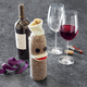 Sock Monkey Wine Sleeve