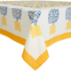 French-Designed Lemon Tree Tablecloths