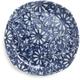 Kotobuki Round Aika Floral Plate, 6