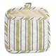 Green Muted-Stripe Potholder