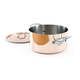 Mauviel® M'heritage 150s Copper & Stainless Steel Dutch Oven, 6.4 qt.