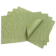 Chilewich Lawn-Green Rectangular Bamboo Placemat