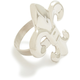 Silver Fleur de Lys Napkin Ring