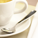 Gold-Plated Demitasse Spoon, 4?