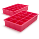 Perfect Cube Pink Ice Trays, Set of 2