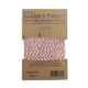 Red and White Striped Baker's Twine