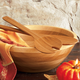 Totally Bamboo Salad Servers, Set of 2, 16