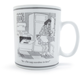 Waechtersbach New Yorker Mug, Overdone 14oz.