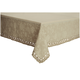 Cream Antique Jacquard Tablecloth