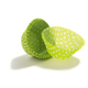 Lime Polka Dot Bake Cups, Set of 40