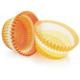 Orange Swirl Bake Cups, Set of 40