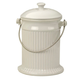 White Ceramic Compost Pail