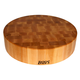 John Boos & Co.® Maple End-Grain Round Chopping Block, 18