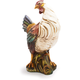 Italian Hand-Painted Ceramic Hen, 20½