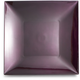 Purple Metallic-Colored Square Charger, 12