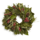 Aromatic Pepperberry Candle-Ring Wreath
