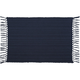 Navy Cotton Ribbed Placemat