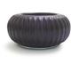 Purple Glass Tea-Light Candle Holder, 3