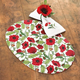 Laminated Poppy Placemat, 13