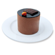 Chocolate Truffle Marquise Cake, Set of 6