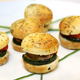 Mini Veggie Burgers, 45-Piece Tray