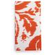 Orange Ikat-Print Napkin