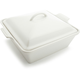 Le Creuset® White Heritage Square Covered Baker, 3 qt.