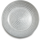 Silver Glass Rope Plate, 6