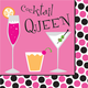 Cocktail Queen Paper Cocktail Napkins