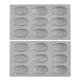de Buyer® Elastomoule Madeleine Grids, 18 Portions