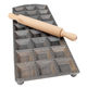 Square Ravioli Maker with Rolling Pin