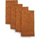 Copper Acorn Jacquard Napkins, Set of 4