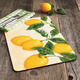 Kitchen Lemon Placemats, Set of 4