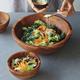 Acacia Salad Bowl, 11¾