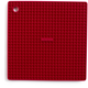 Cranberry Silicone Grid Pot Holder