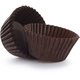 Solid-Brown Mini Bake Cups, Set of 40