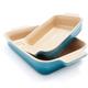 Le Creuset® Caribbean Rectangular Baker 2 Piece Set