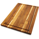 Madeira Teak Edge-Grain Carving Board