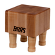 John Boos & Co.® Maple End-Grain Chopping Block with Feet, 6