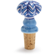 Blue Ceramic Bottle Stopper