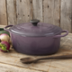 Le Creuset® Signature Cassis Oval French Oven, 5 qt.