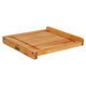 John Boos & Co.® Maple Edge-Grain Countertop Cutting Board with Juice Groove, 17¾